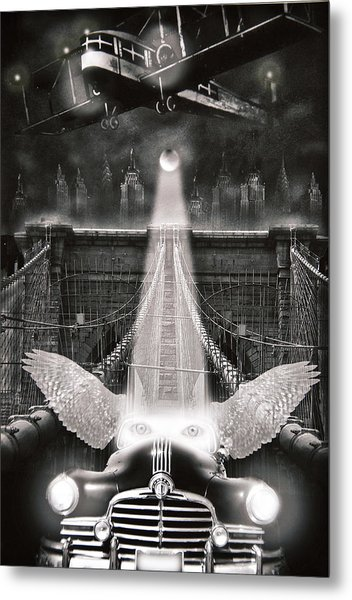 Fly Me To The Moon Metal Print by Larry Butterworth