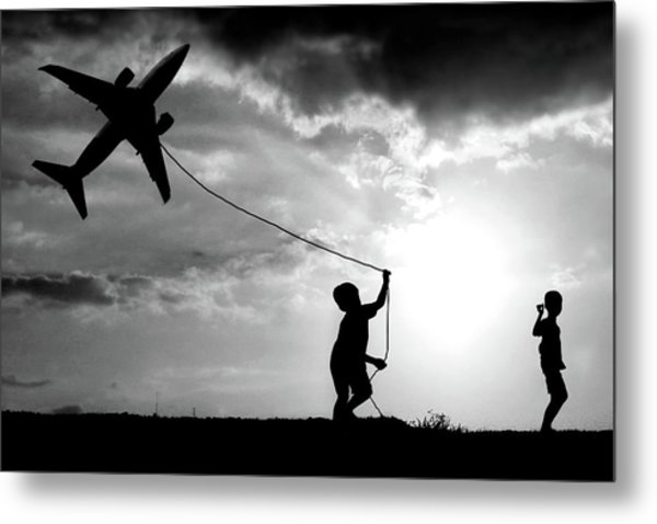 Fly My Plane Metal Print by