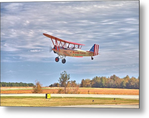Flying Circus Barnstormers Metal Print