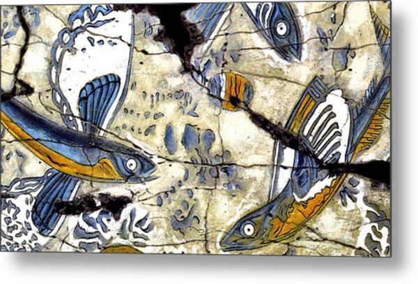 Flying Fish No. 3 - Study No. 2 Metal Print