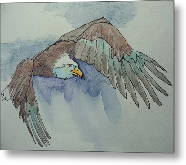 Flying Free Metal Print by Judy Fischer Walton