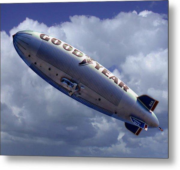 Flying The Flag Metal Print by Ken Evans