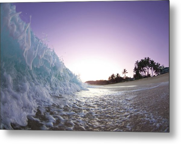 Foam Wall Metal Print