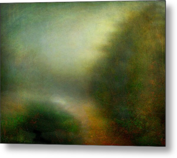 Fog #3 - Silent Words Metal Print by Alfredo Gonzalez