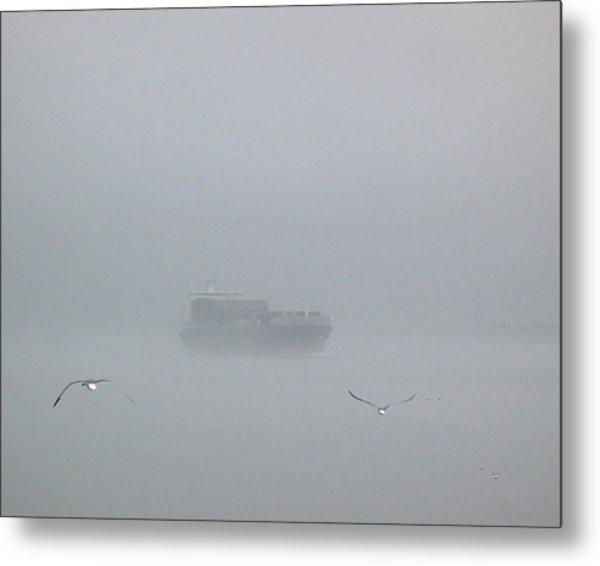 Fog Bound Metal Print