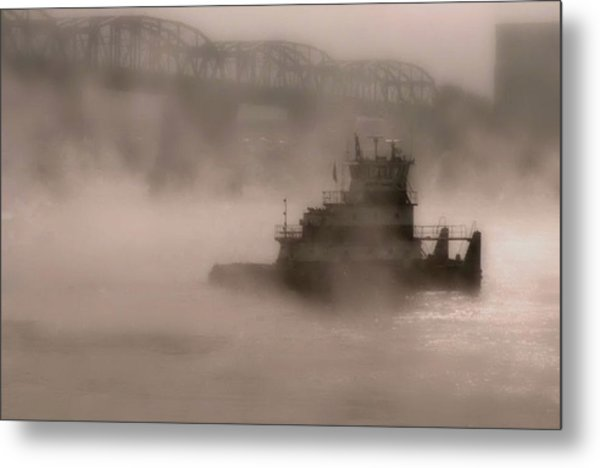Fogbound Metal Print