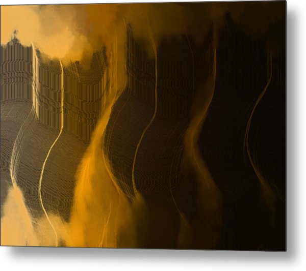 Foggy Bottoms Metal Print