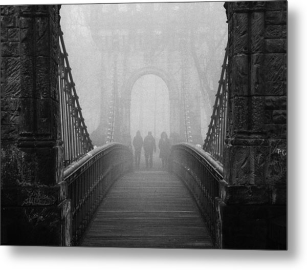 Foggy Day(they) Metal Print by Catalin Alexandru
