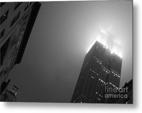 Foggy Empire Metal Print