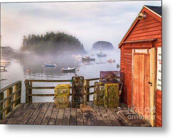 Foggy Morning In Five Islands Metal Print
