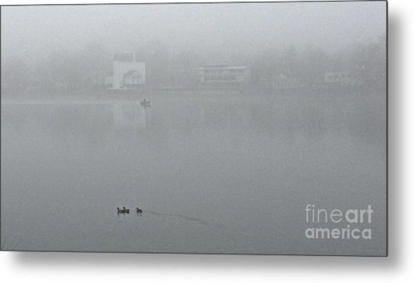 Foggy Morning In Paradise - 01 Metal Print