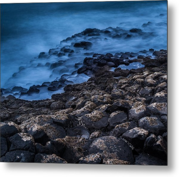 Foggy Seascape Metal Print by Craig Brown