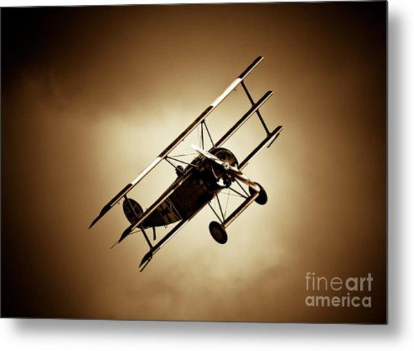 Fokker Dr-1 Metal Print