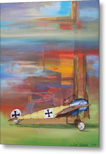 Fokker Ready Metal Print