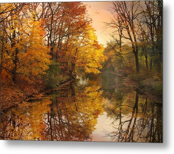 Metal Print featuring the photograph Foliage Reflected by Jessica Jenney
