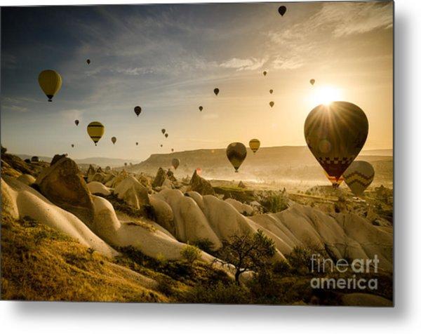 Follow The Wind - Cappadocia Turkey Metal Print by OUAP Photography
