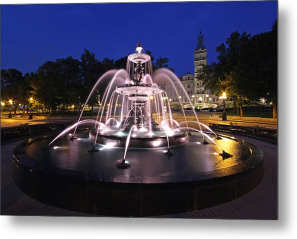 Fontaine De Tourny Metal Print