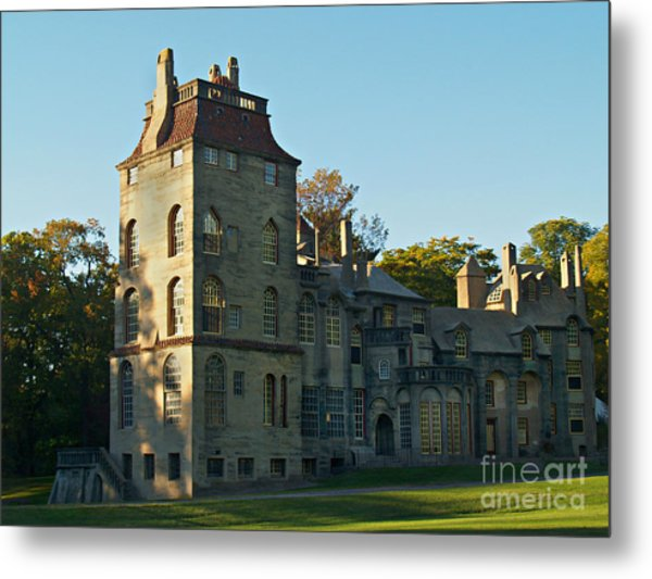 Fonthill Castle In September - Doylestown Metal Print
