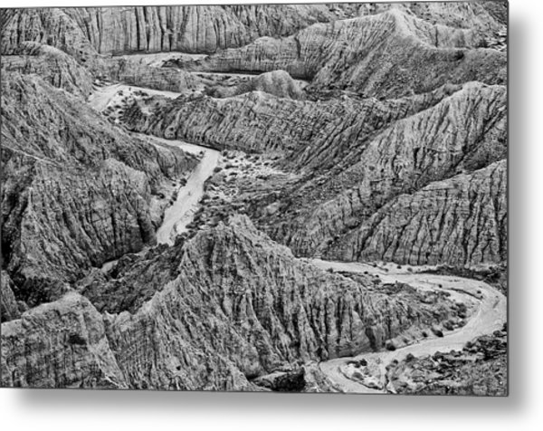 Font's Point - Great American Southwest Landscape Metal Print