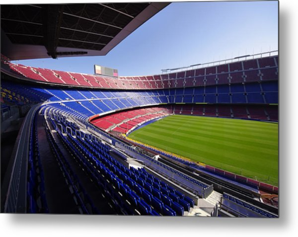 Football Stadium Metal Print by Ioan Panaite