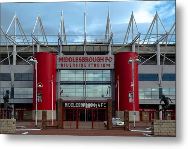 Football Stadium - Middlesbrough Metal Print