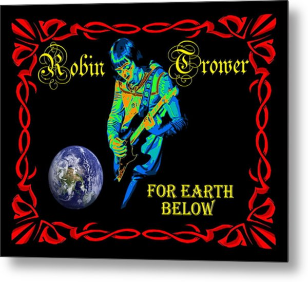 For Earth Below #1 Metal Print