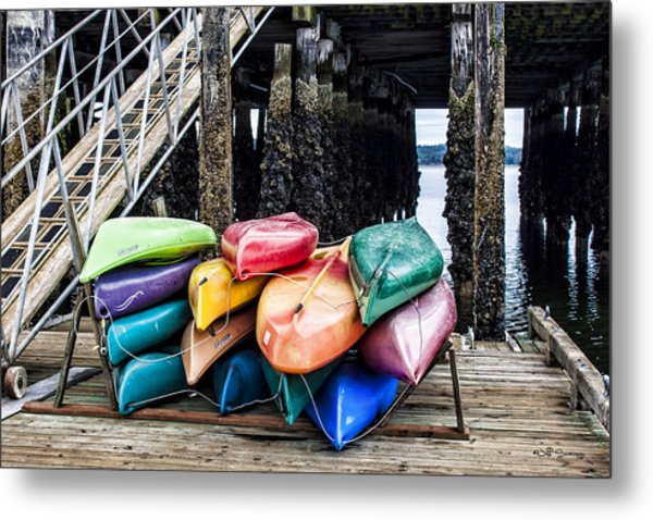For Rent Metal Print by Jeff Swanson