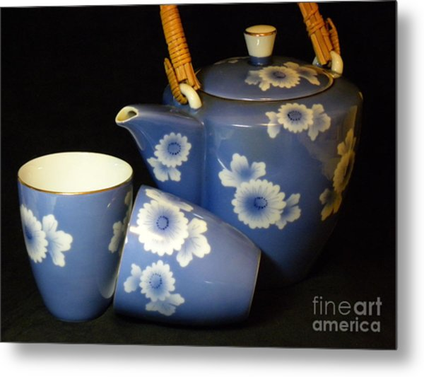 For Two Metal Print by Laura Yamada