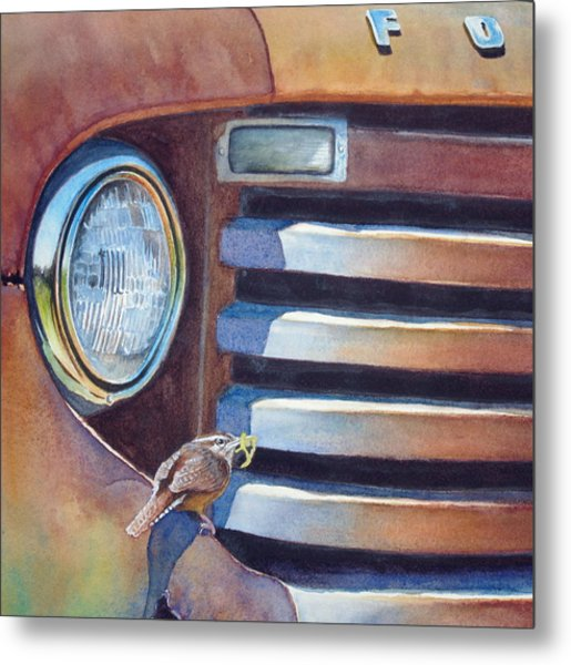 Ford And Wren Metal Print