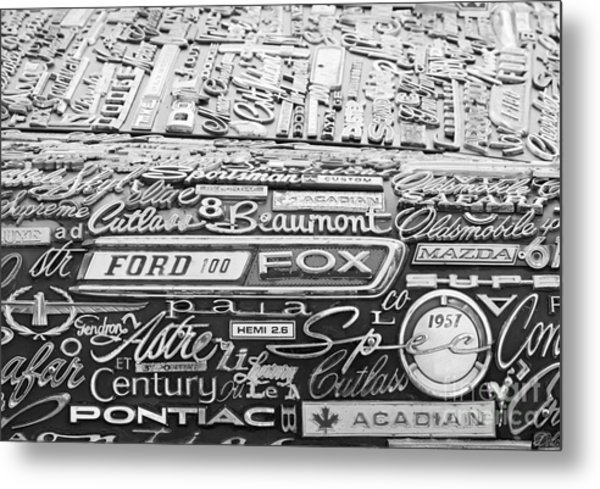 Ford Fox Metal Print