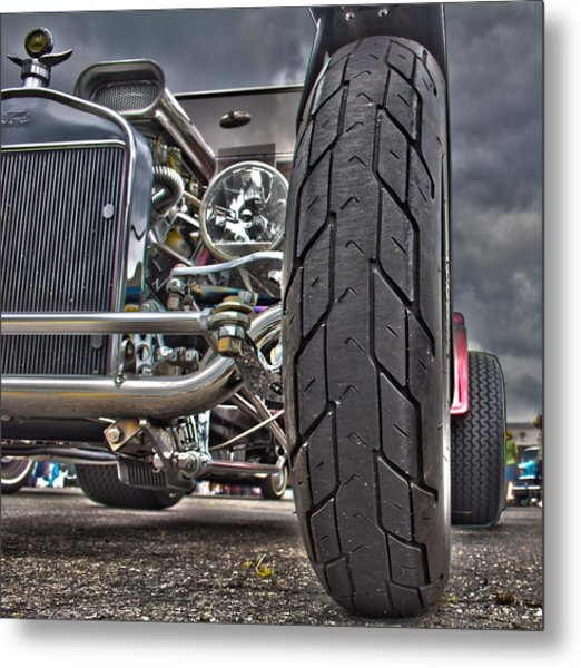 Ford In Hdr Metal Print