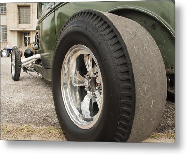 Ford Model A Hotrod Metal Print