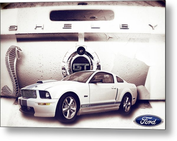 Ford Mustang Shelby Gt  Metal Print
