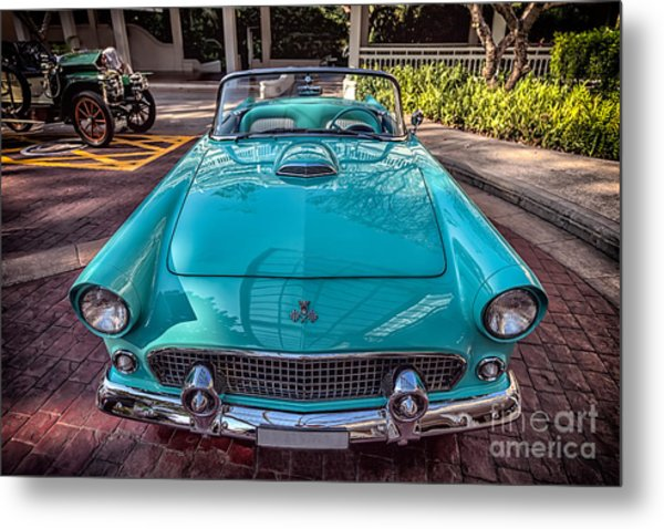 Metal Print featuring the photograph Ford Thunderbird  by Adrian Evans