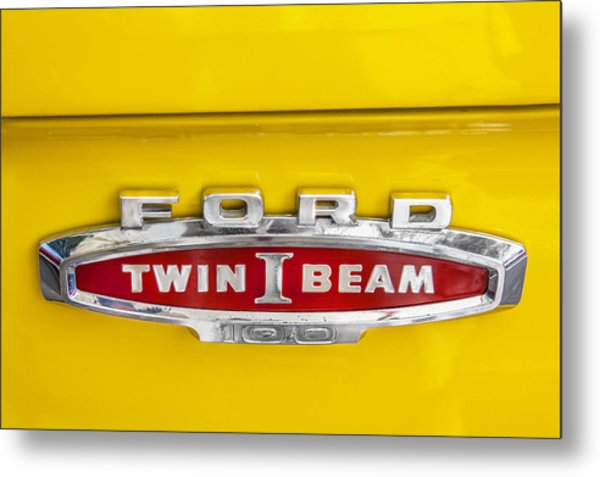 Ford Tough 1966 Truck Metal Print