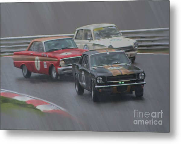 Ford Trio Metal Print