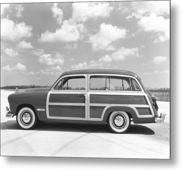 Ford Woody Station Wagon Metal Print