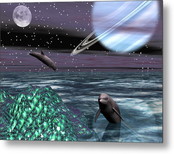 Foreign Shores Metal Print