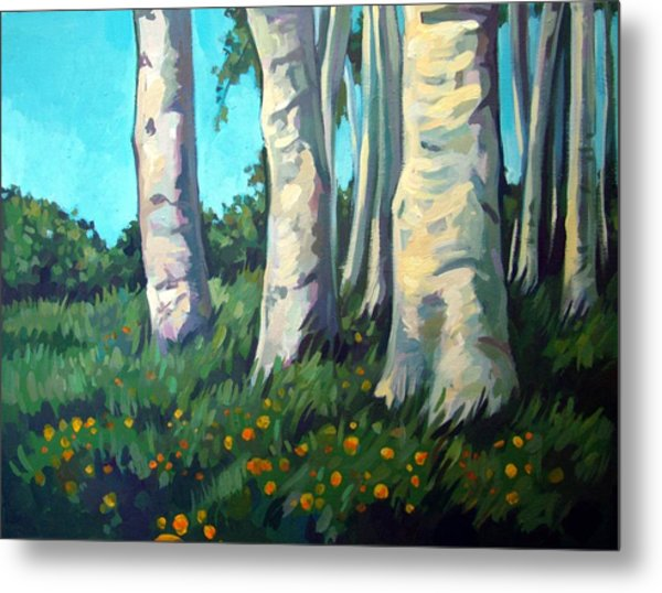 Forest Metal Print by Filip Mihail