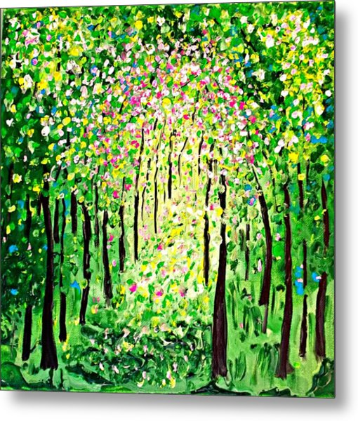 Forest Gifts Metal Print