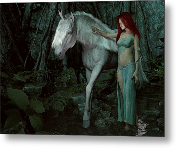 Forest Of Enchantments Metal Print