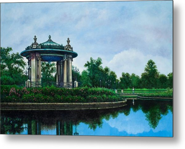 Forest Park Muny Bandstand II Metal Print