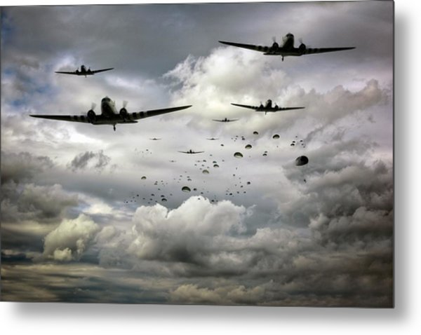 Forever Airborne Metal Print