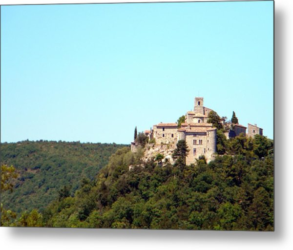 Forgotten Chateau Metal Print