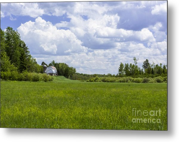 Forgotten Farm Metal Print