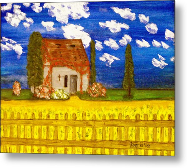Forgotten In Provence Metal Print