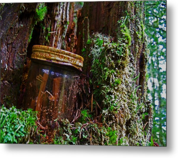 Forgotten Jar Metal Print