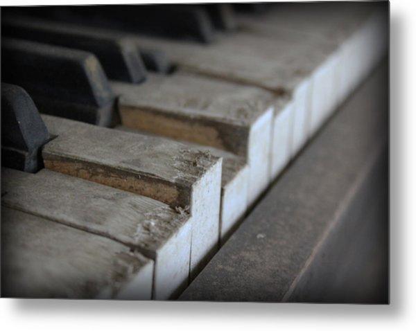 Forgotten Keys Metal Print