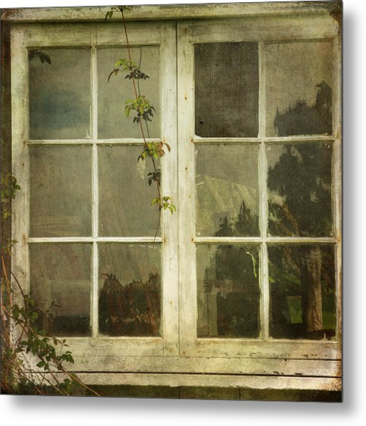 Metal Print featuring the photograph Forgotten by Sally Banfill