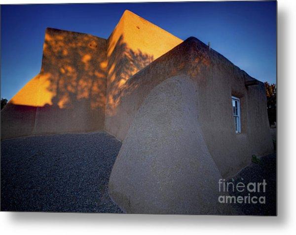 Form And Shadow--san Francisco De Asis - Color Metal Print